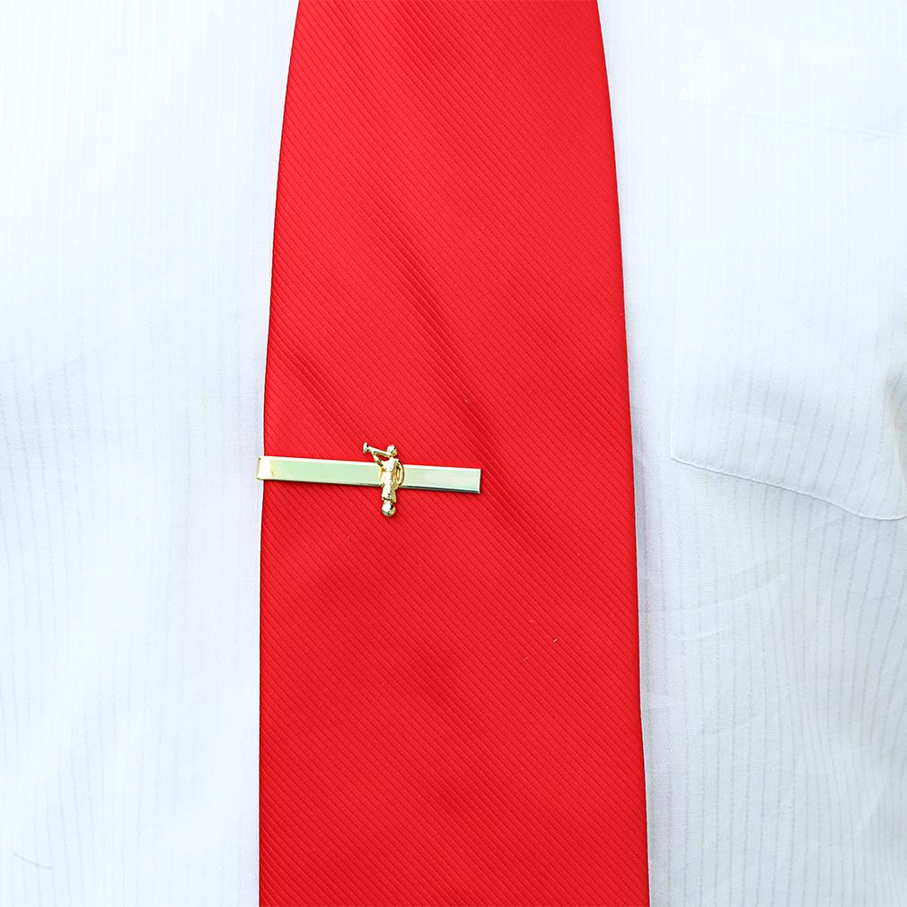 Angel Moroni Tie Clip - Gold - OMT-J79G