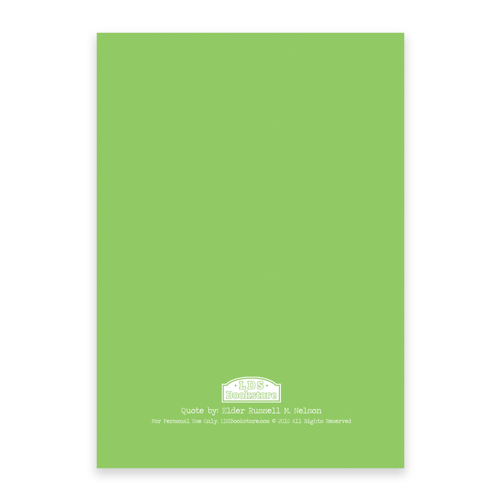 Mother's Day Card - Green - Printable - LDPD-MOMCRDG