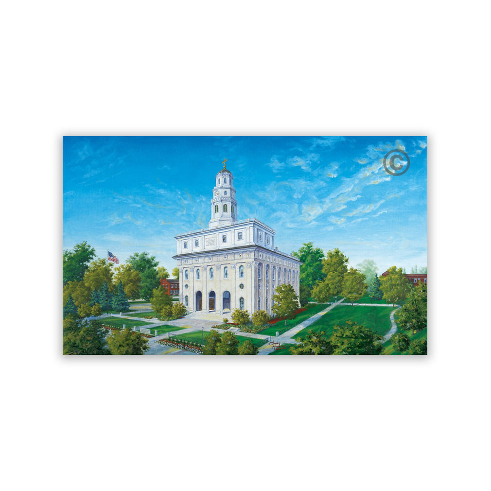 Nauvoo Illinois Temple Recommend Holder - CH-RH141
