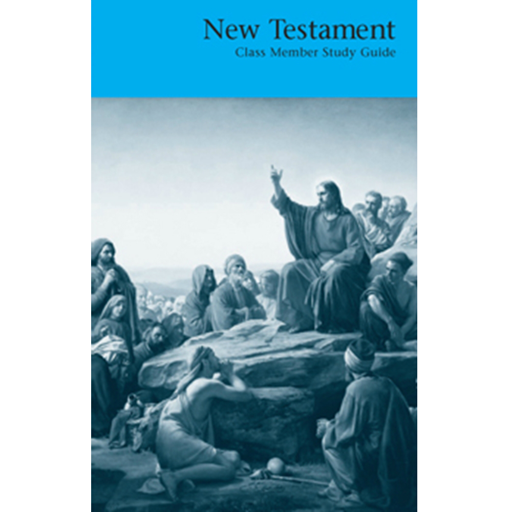 the new testament guide The exegetical guide to the greek new testament (eggnt) closes the gap between the greek text and the available lexical and grammatical tools, providing all the necessary information for greater understanding of the text.