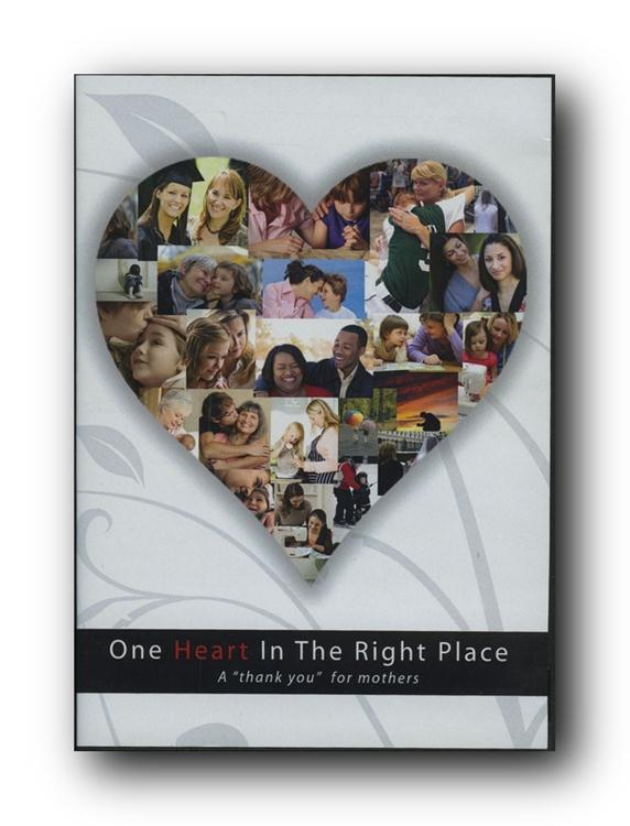 One Heart In The Right Place Dvd In Inspirational Ldsbookstore