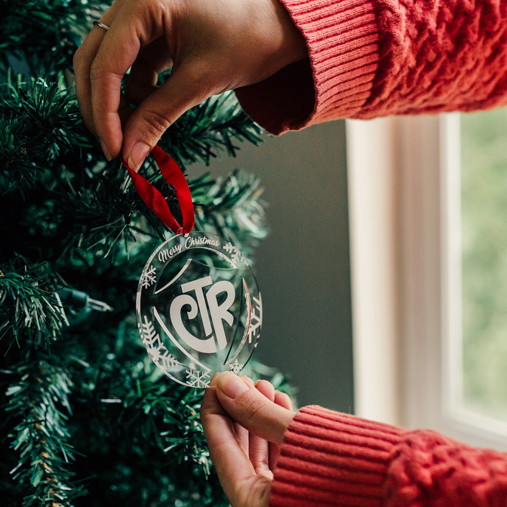 CTR Ornament - Acrylic  - LDP-ORN-CTR-ACRYLIC