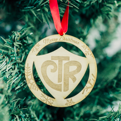 CTR Ornament - Wood
