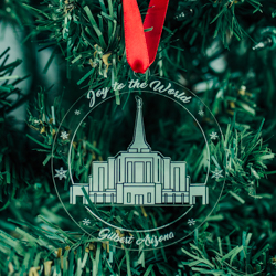 Gilbert Temple Ornament - Acrylic