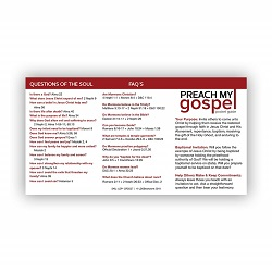 Preach My Gospel Pocket Card - LDP-CRD227
