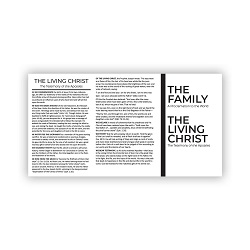 Family Proclamation & Living Christ Pocket Card
