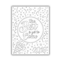 The Best Is Yet to Come Coloring Page - Printable lds new year coloring page, lds new year printable, new year coloring page, new year printable