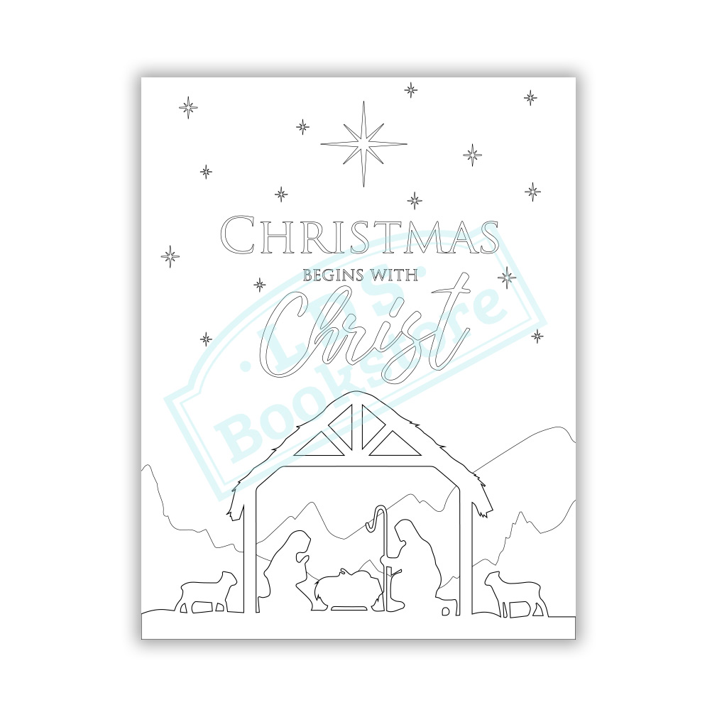 Christmas Street Colouring Page (avec images) | Coloriage noel ... | 1010x1010