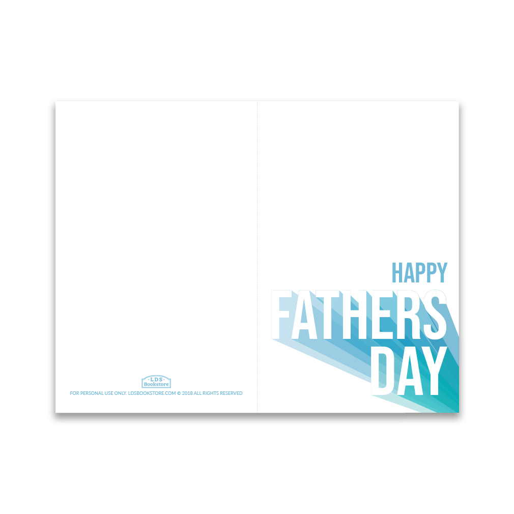 photograph relating to Father's Day Printable Cards identify Fathers Working day Card - Joyful Fathers Working day - Printable