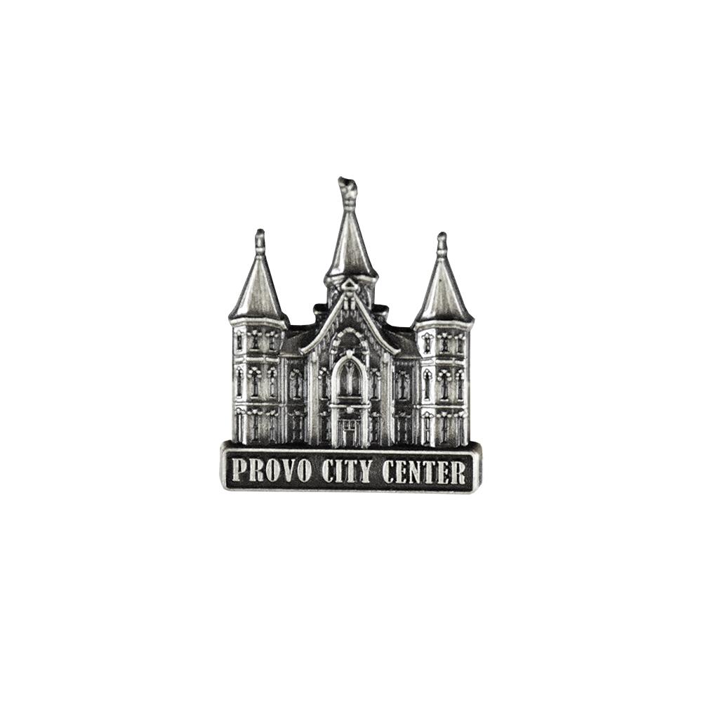 Provo Utah Temple Tie Bar Silver or Gold Finish
