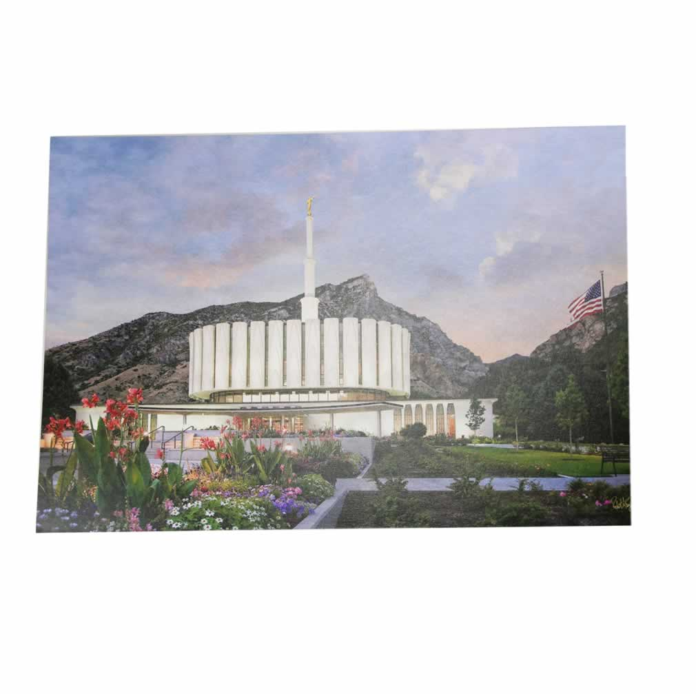 Provo Temple - Textured