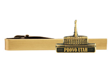 db32e30d7be6 Provo Utah Temple Tie Bar - Gold in Temple Pins & Bars | LDSBookstore.com  (#RM-TCL230)