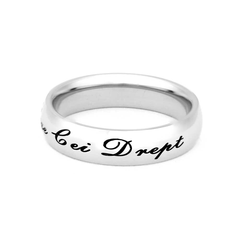Romanian Choose the Right Ring - Narrow - LDP-RNGC15139