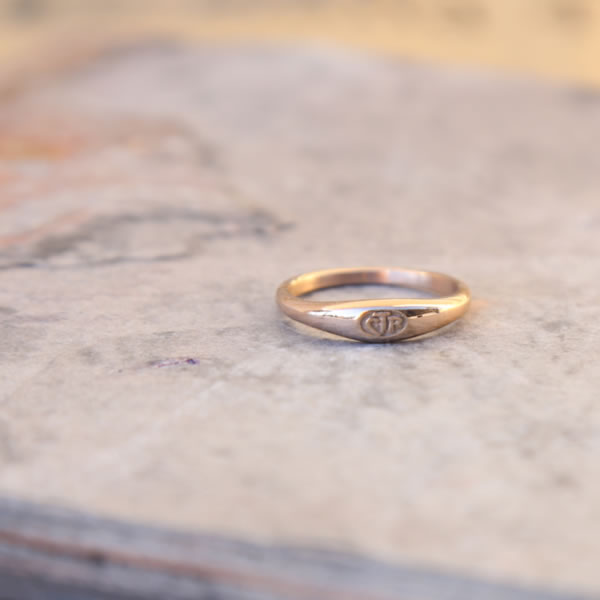 Micro Mini CTR Ring - Rose Gold - RM-C17070
