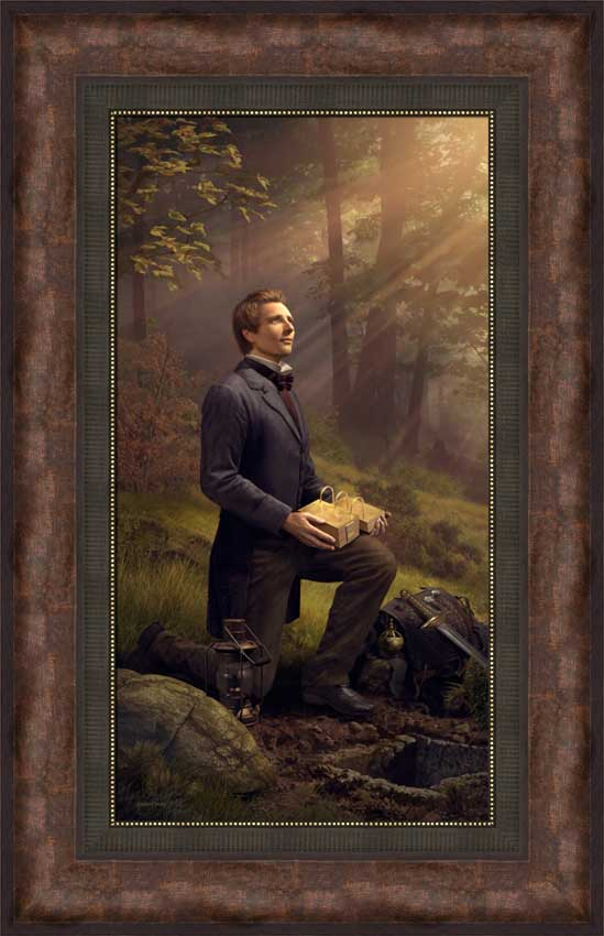 Preserved By The Hand of God - Framed - D-AFA-SD-PBTHOG