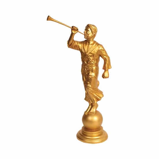 angel moroni 15 statue in statues ldsbookstore com omt s31 rh ldsbookstore com Angel Moroni Clip Art No Background Angel Moroni Outline