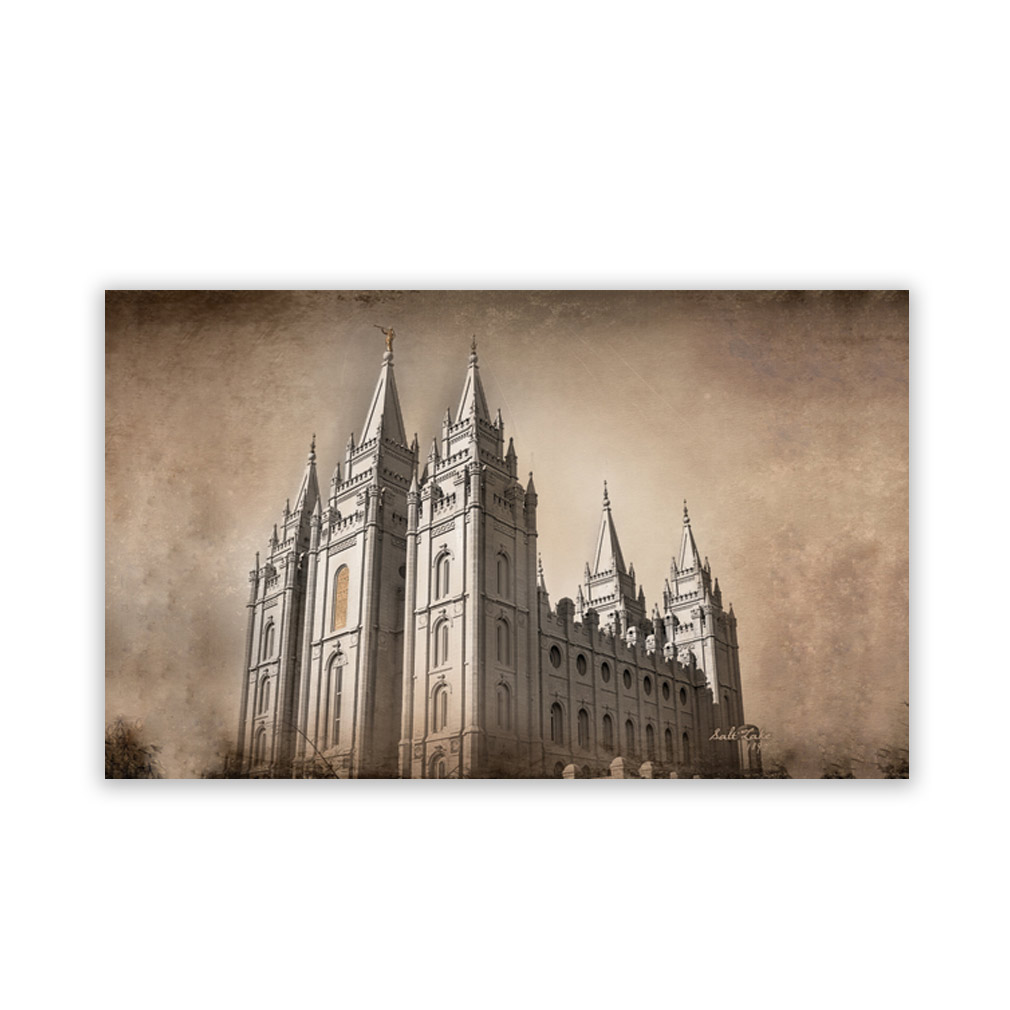 Salt Lake City Utah Temple Recommend Holder - CH-RH205