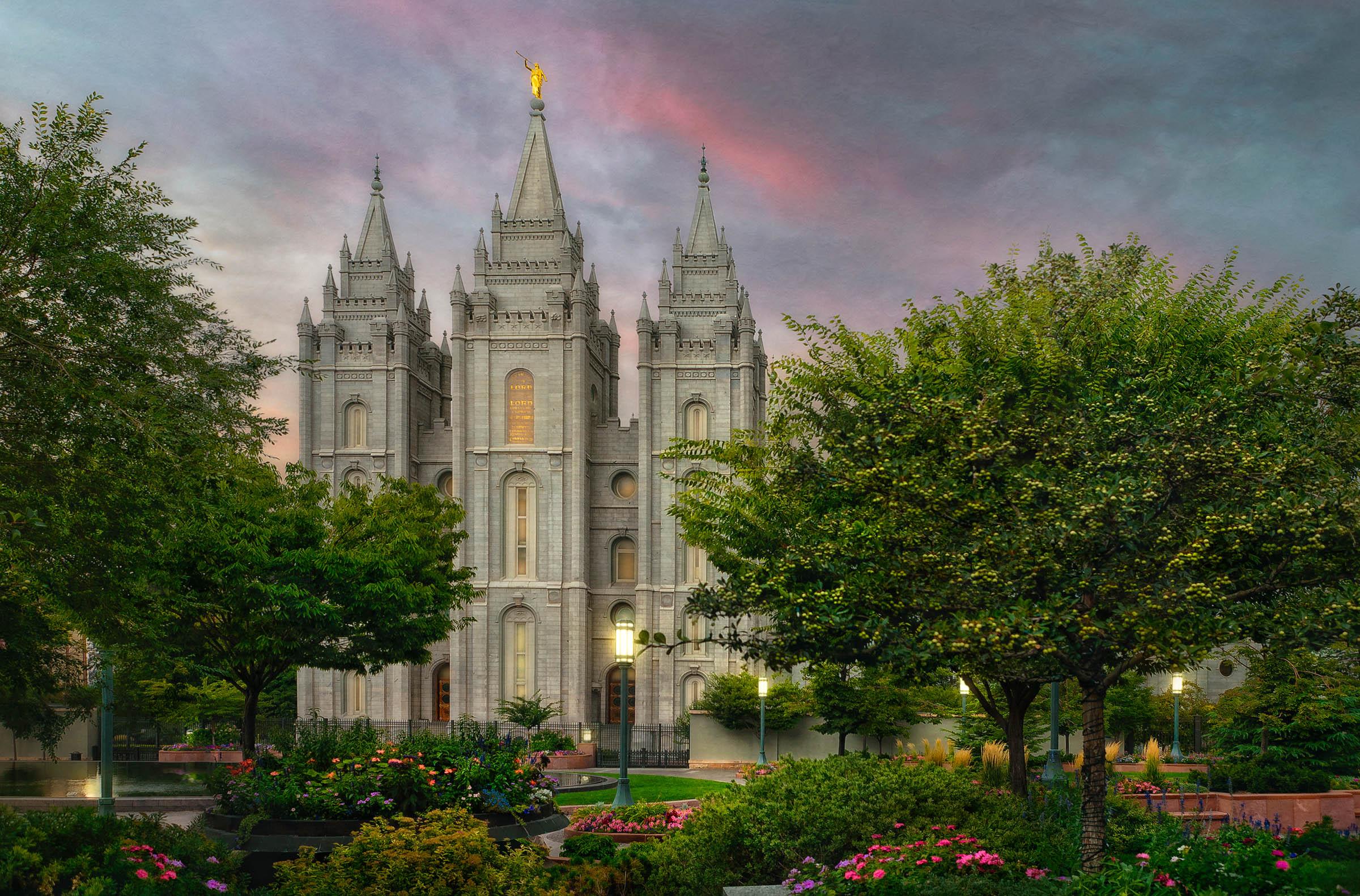 Salt Lake Temple - Eden in Temple   LDSBookstore.com (#LDP
