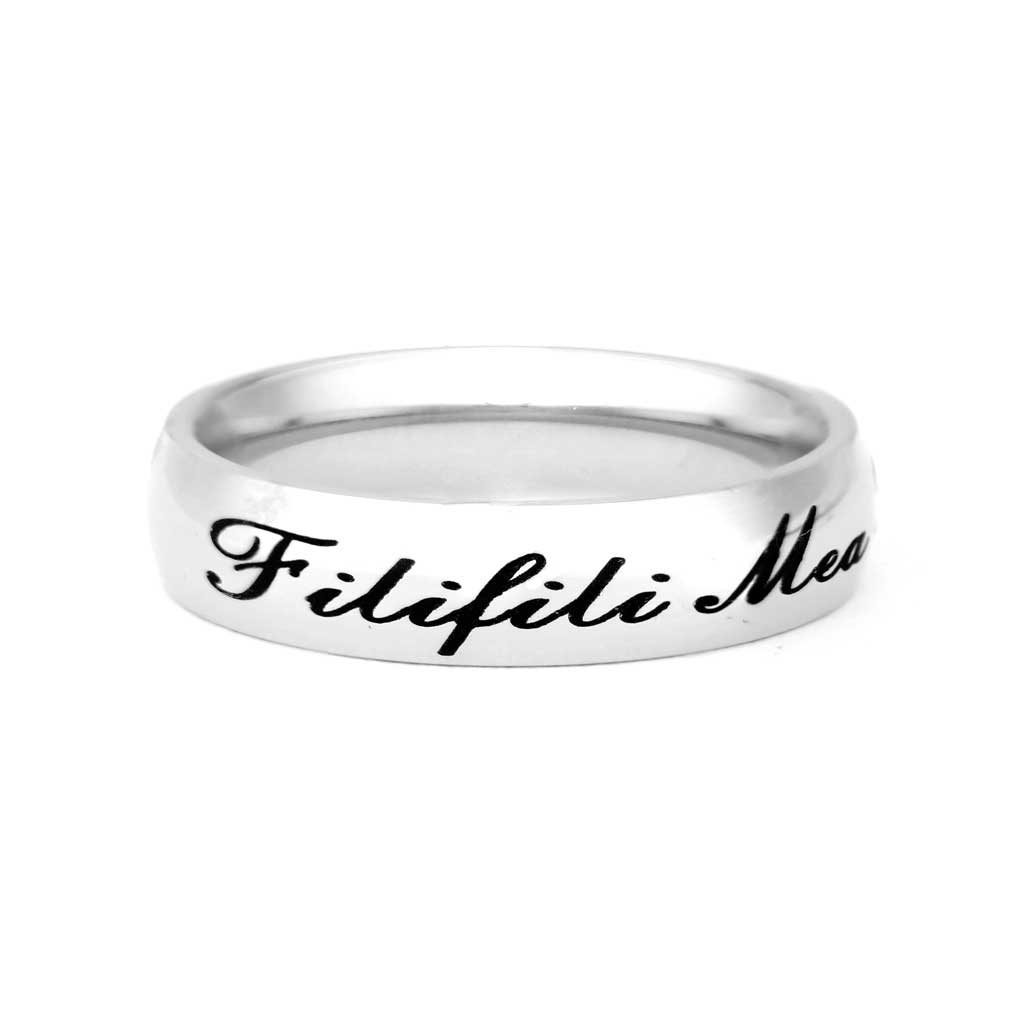 Samoan CTR Ring Pick Your Font Mens Womens Rings