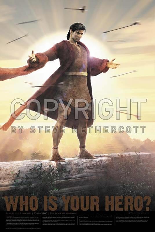 samuel the lamanite poster in real hero posters