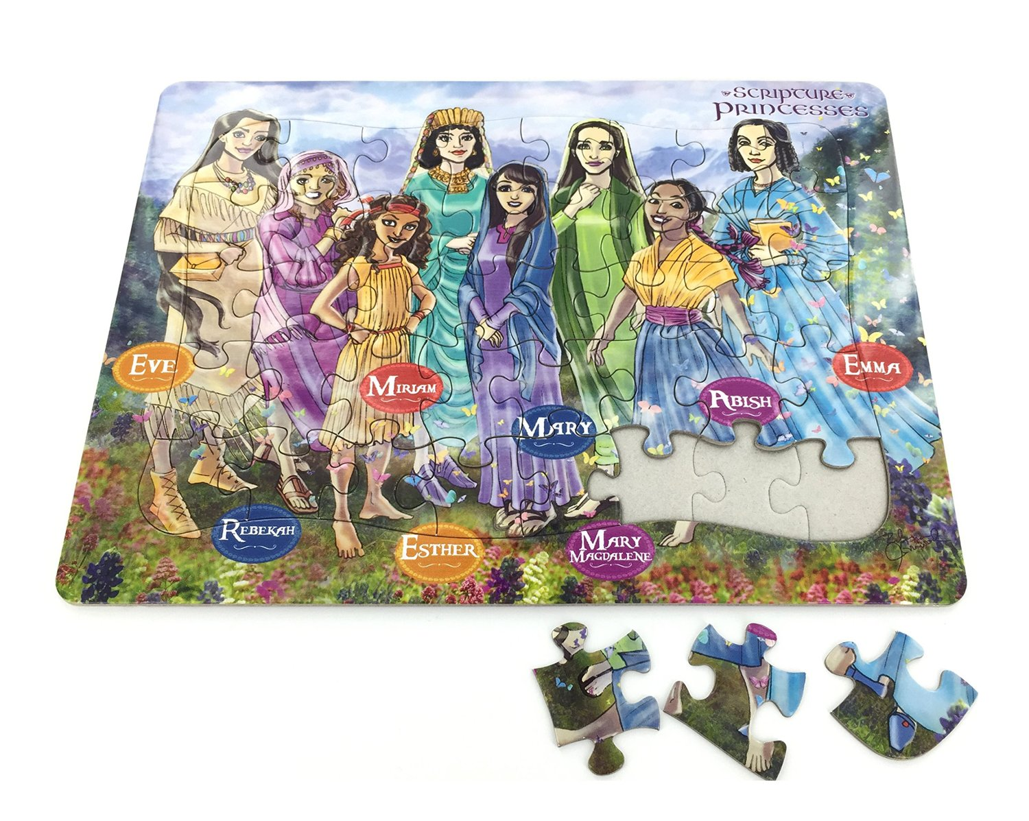 Scripture Princesses Children's Frame Puzzle - CF-P00113