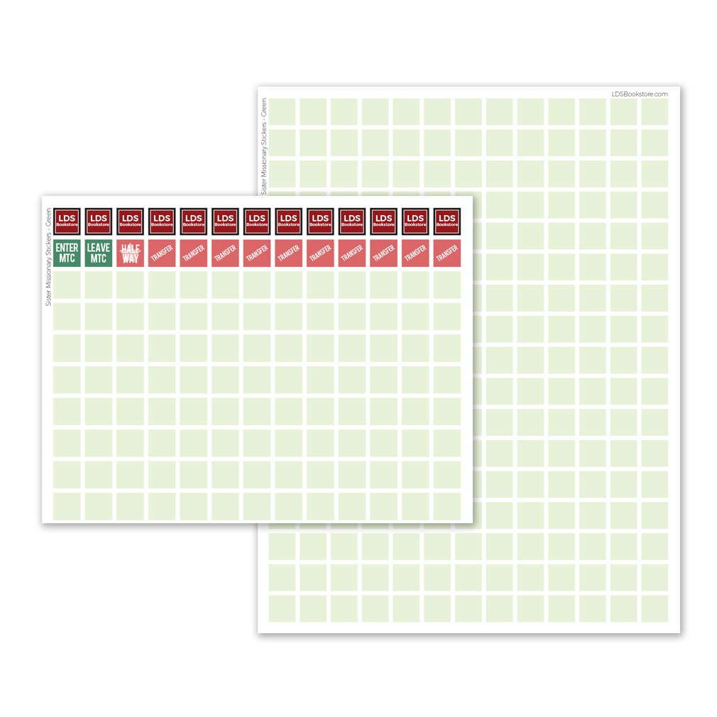 Borders Sister Missionary Countdown Calendar - LDP-PST20227