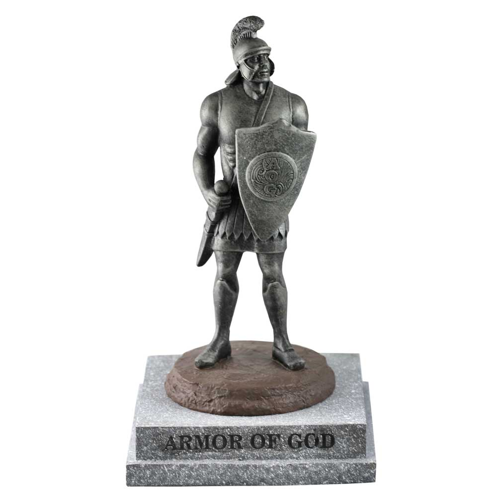 small armor of god statue in statues ldsbookstore com sa 8003807