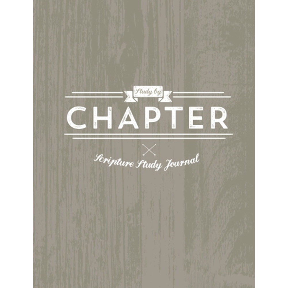 Study by Chapter Journal - Rustic Version