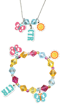 Sunshine CTR Necklace & Bracelet Set - RM-JNC028
