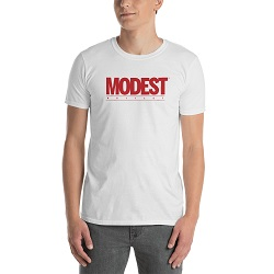 Modest Is Hottest Marvel T-Shirt - Unisex  - LDP-TEES-MODEST-US