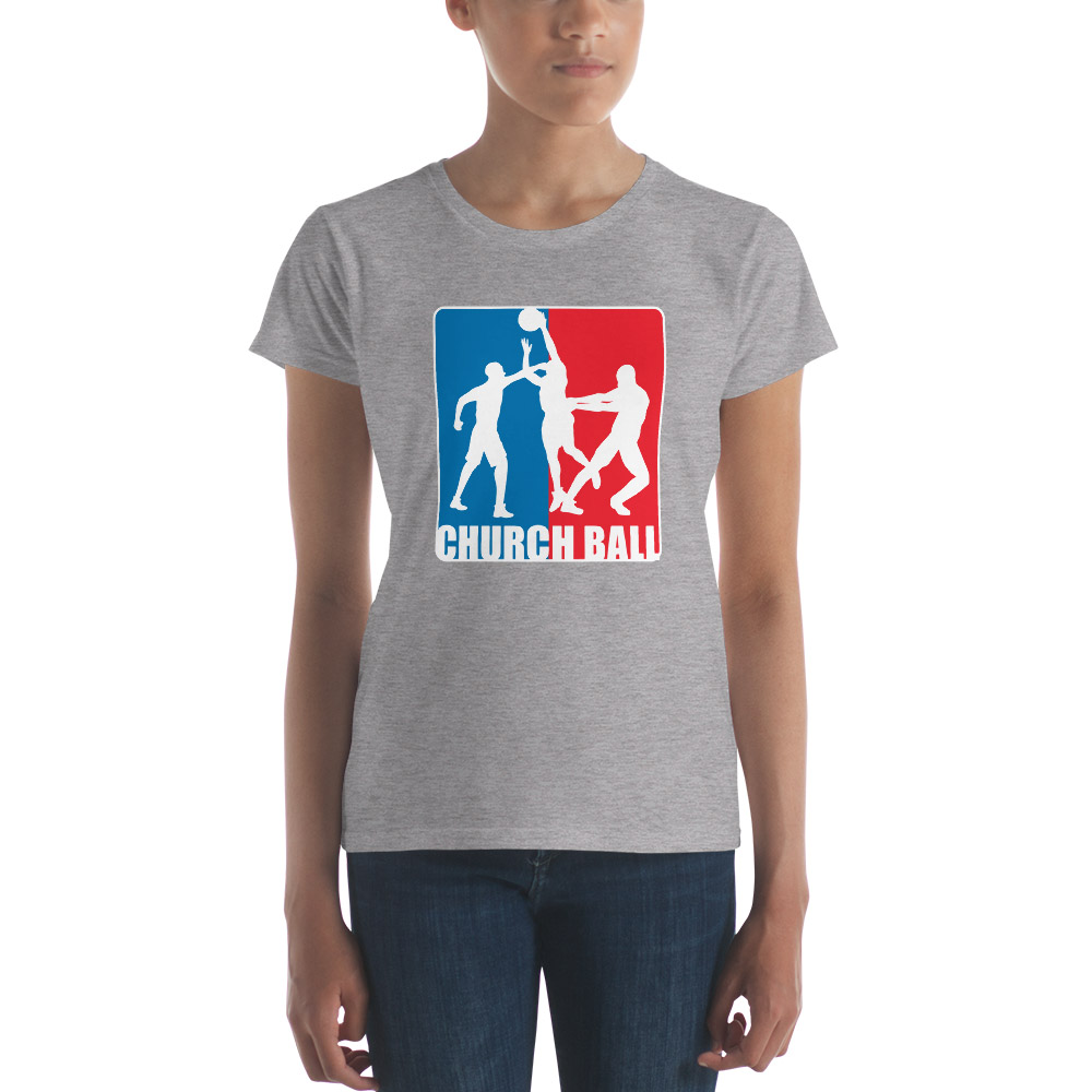 Church Ball T-Shirt - Women's - LDP-TEES-CHBA-W