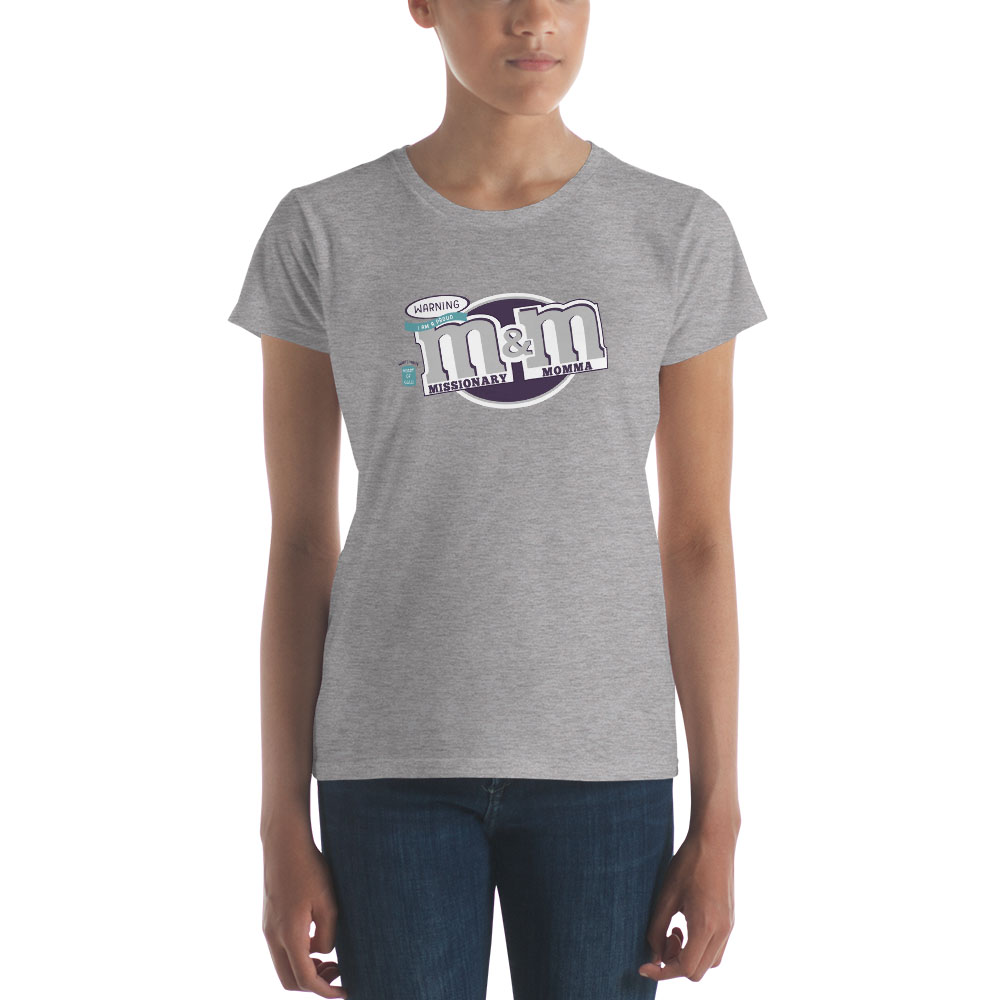 Missionary Momma M&M T-Shirt - Women's - LDP-TEES-MIMO-W