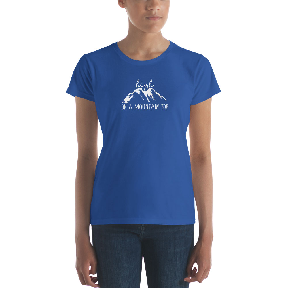 High on a Mountain Top T-Shirt - Women's - LDP-TEES-MTTOP-W