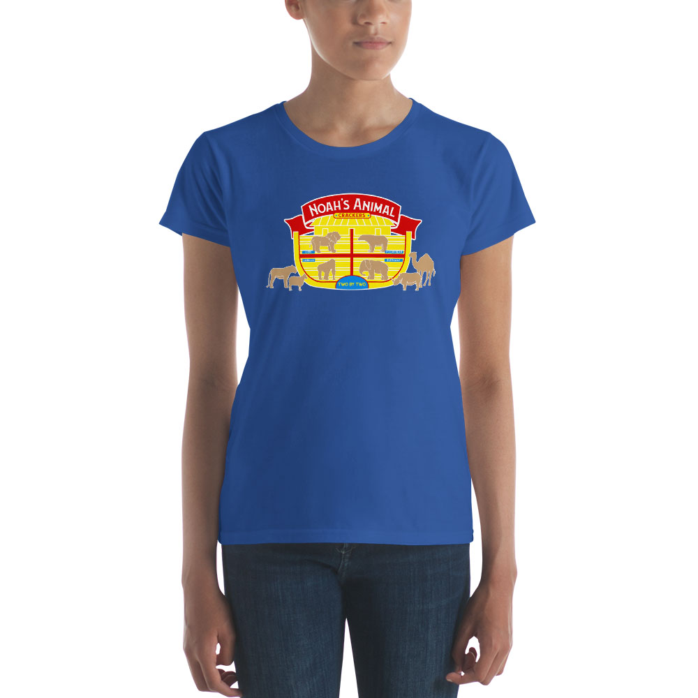 Noah's Animal Crackers T-Shirt - Women's - LDP-TEES-NOAH-W