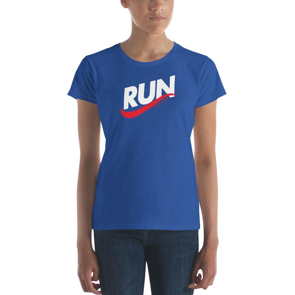 Run & Not Be Weary T-Shirt - Women's - LDP-TEES-RUN-W