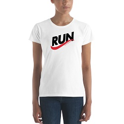 Run & Not Be Weary T-Shirt - Womens