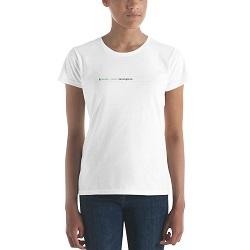I Am Single URL T-Shirt - Womens