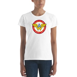 Young Wonder Women T-Shirt - Womens