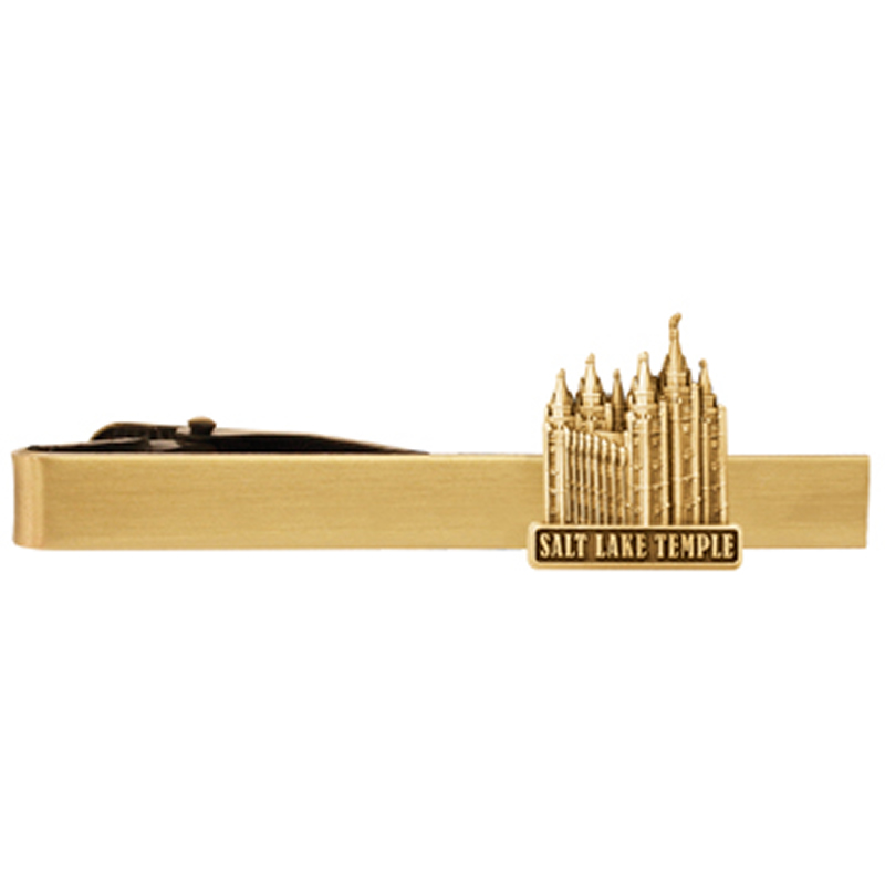 1216452ad748 Salt Lake Temple Tie Bar - Gold in Temple Pins & Bars | LDSBookstore.com  (#RM-TCL262)