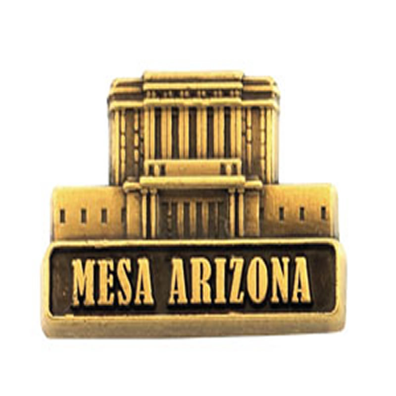 Mesa arizona temple pin gold in temple pins bars for Jewelry stores mesa az
