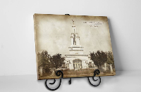Columbia River Temple - Vintage Tabletop