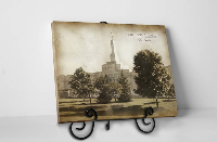 Columbus Temple - Vintage Tabletop