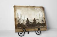 Tabletop Vintage Portland Temple - D-LWA-TCW-PORT