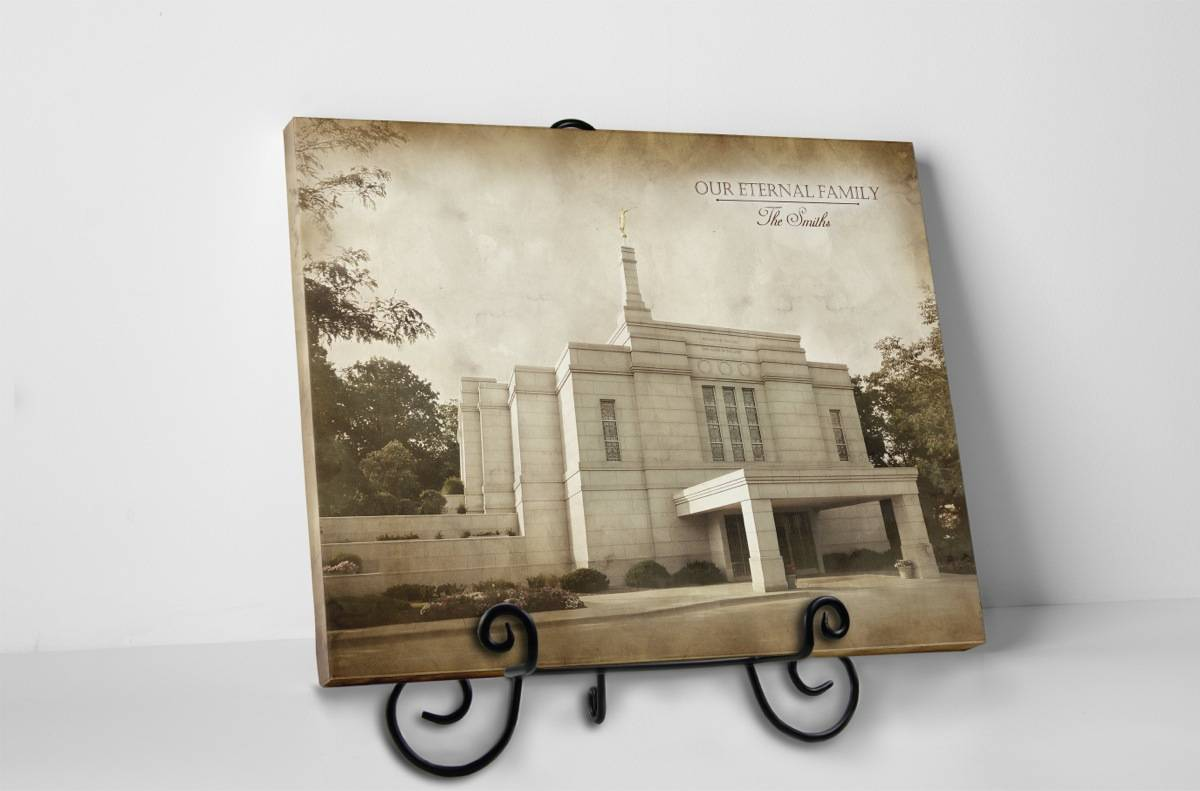 Winter Quarters Temple - Vintage Tabletop