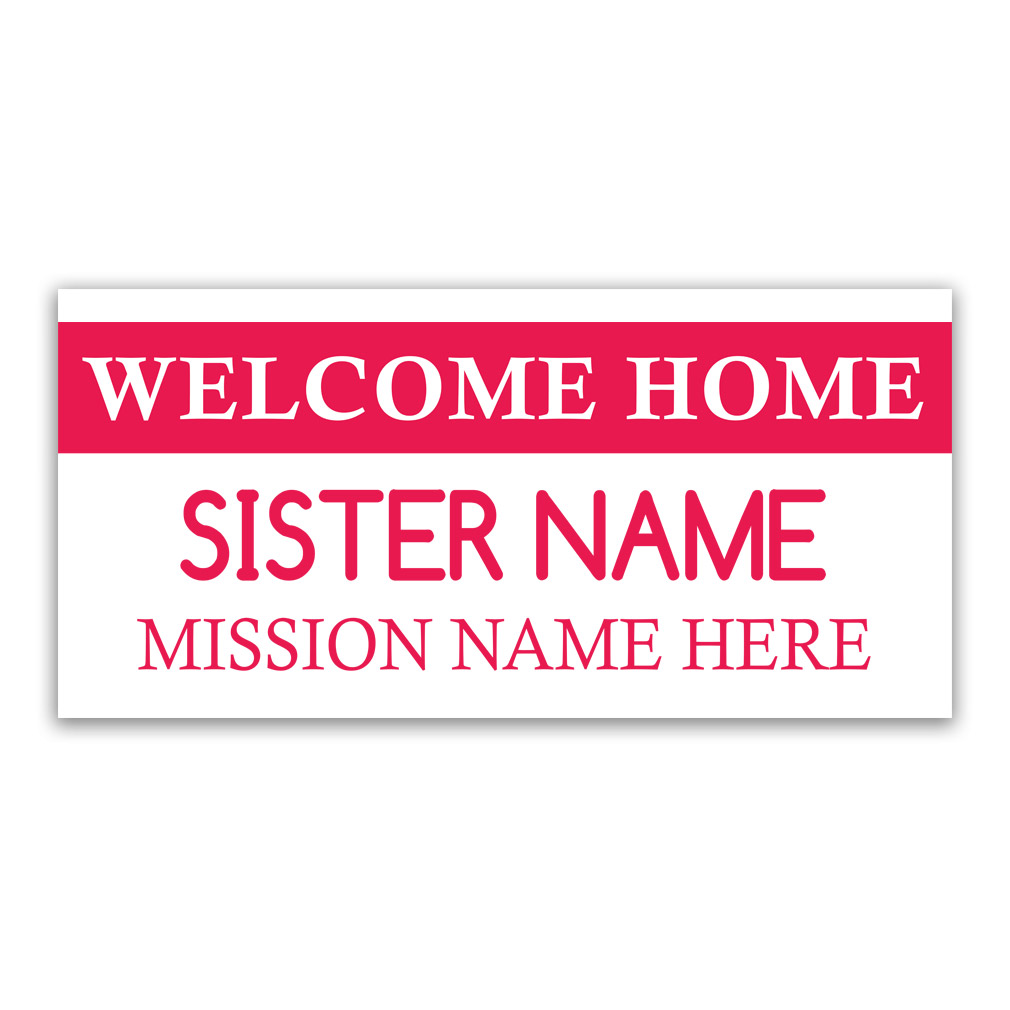 Tag Missionary Banner - Sister - LDP-MSPST247223