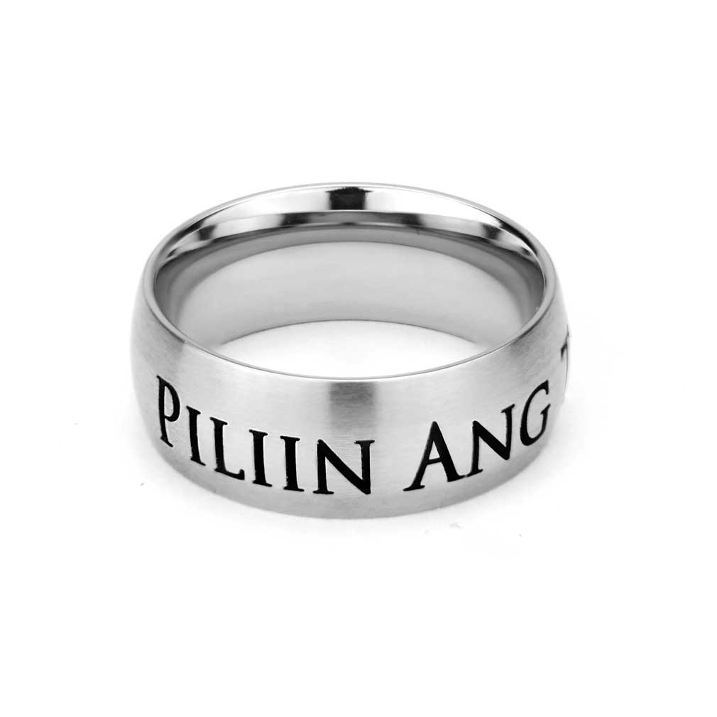 Tagalog Choose the Right Ring - Wide - LDP-RNGB15144
