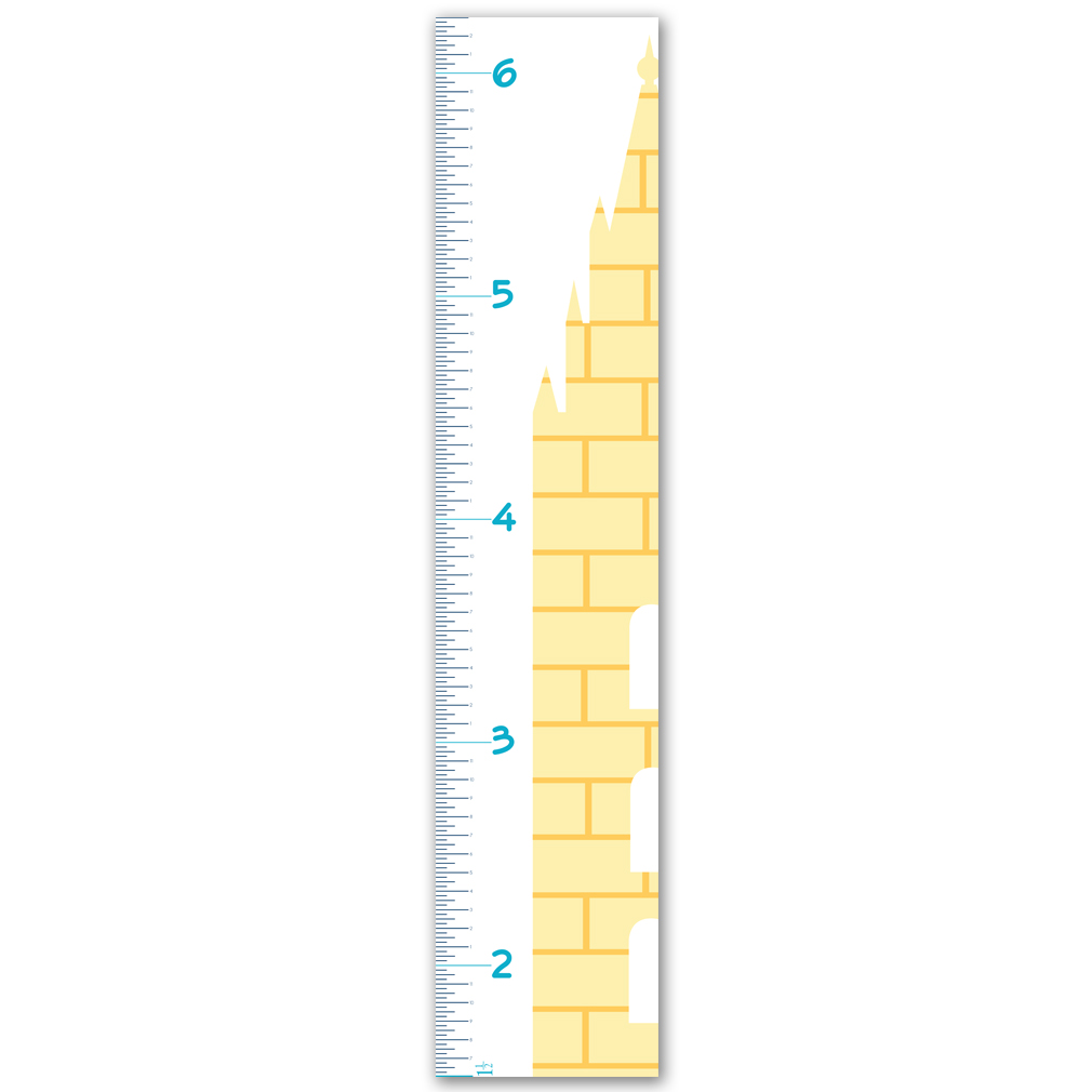 Childrens Growth Chart - Temple