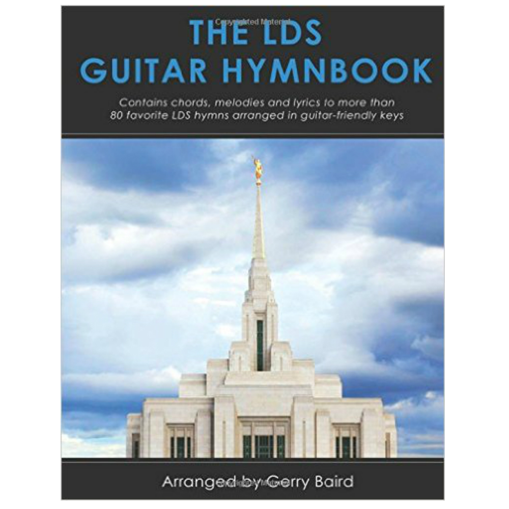 The Lds Guitar Hymn Book In Songbooks Ldsbookstore Rm