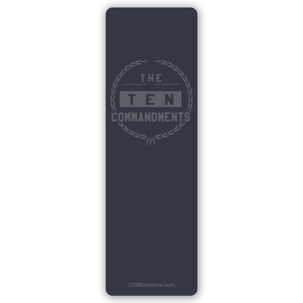 The Ten Commandments Bookmark - LDP-TENBKMK