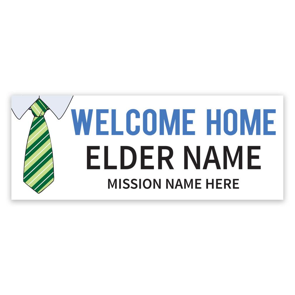 Tie Missionary Banner - LDP-MSPST250